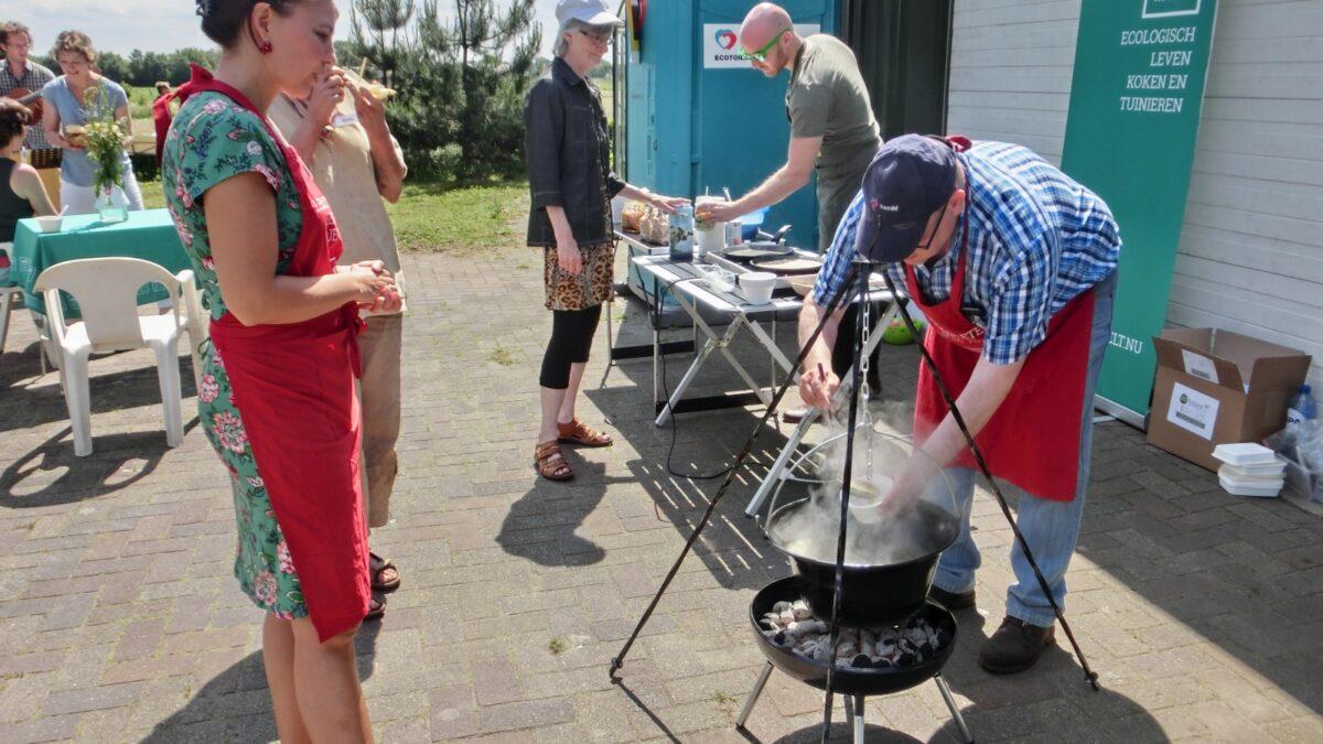 Ecotuin in Rucphen druk bezocht