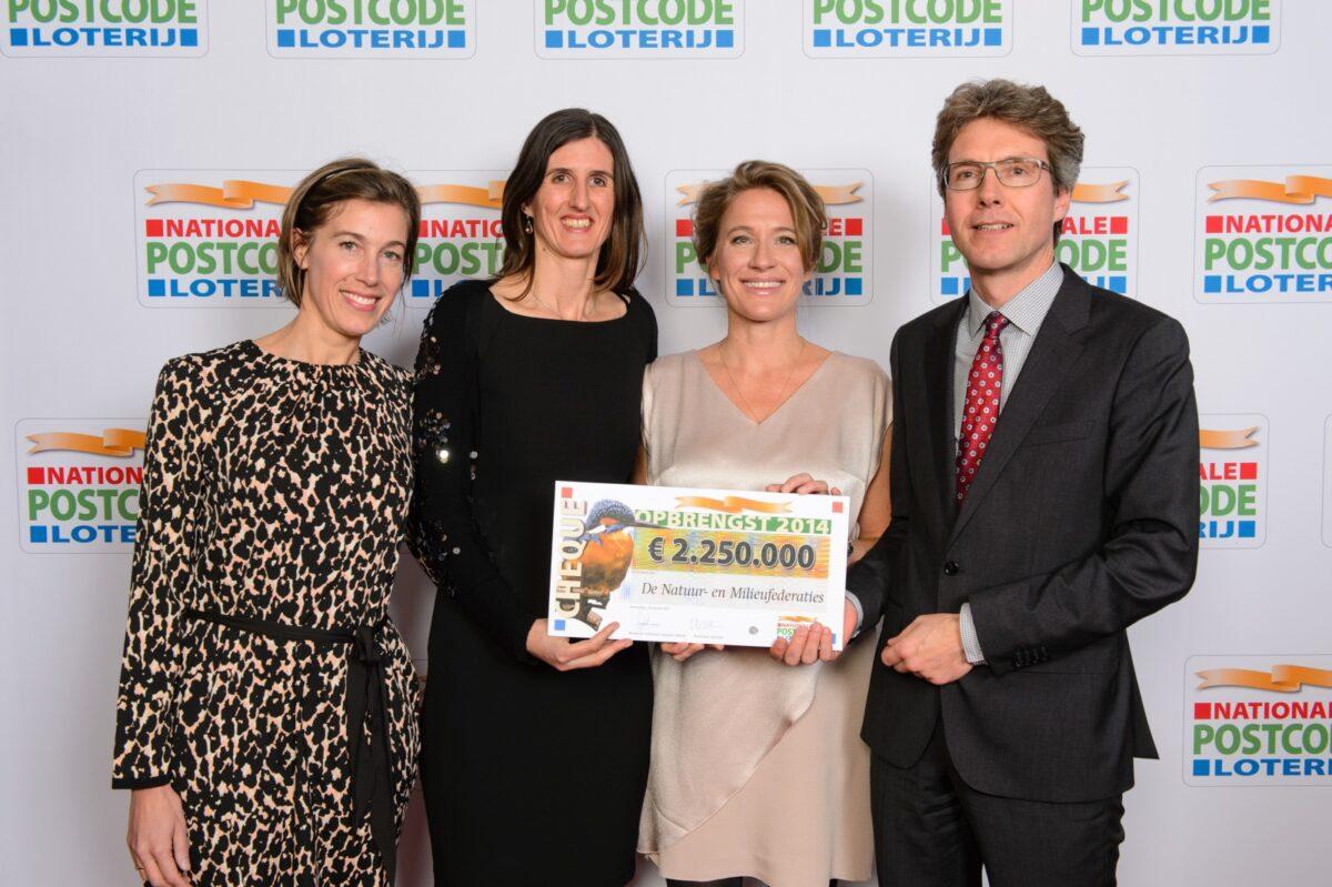 Postcode Loterij: 2,25 miljoen euro voor De Natuur en Milieufederaties