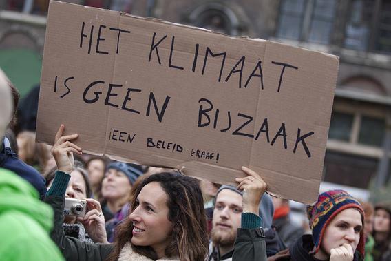 Het klimaat is van iedereen
