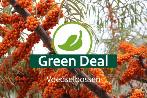 Green Deal Voedselbossen vandaag ondertekend