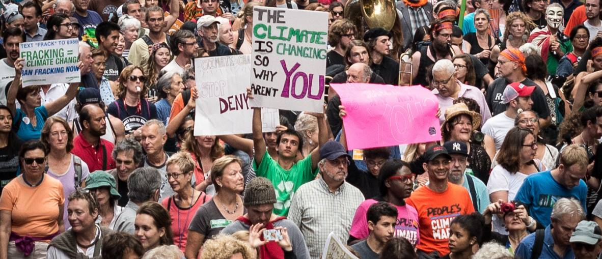 Word lokale mobiliser voor de klimaatparade