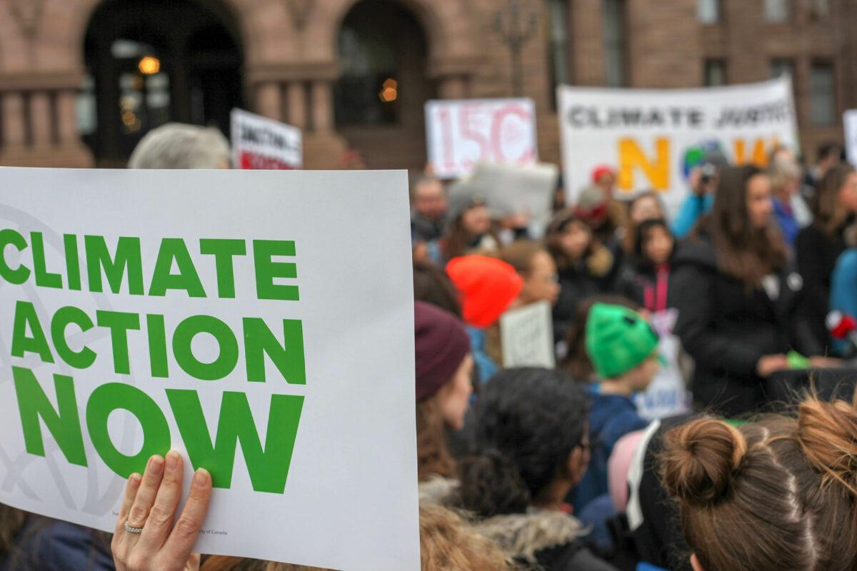 Kom in actie! Jongeren organiseren klimaatstaking