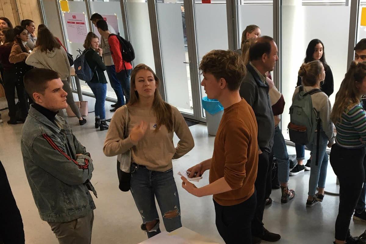 BMF in panel van Jongeren Klimaattop in Roosendaal