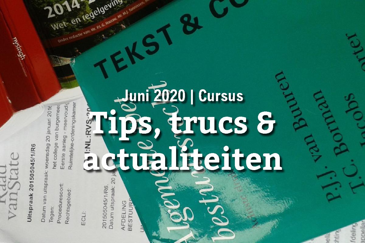 Tips, trucs & actualiteiten voor natuur- en milieugroepen (9 juni)