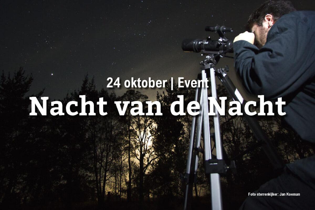 24 oktober | Nacht van de Nacht