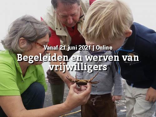 Vanaf 21 juni   (Digitale) training begeleiden en werven van vrijwilligers