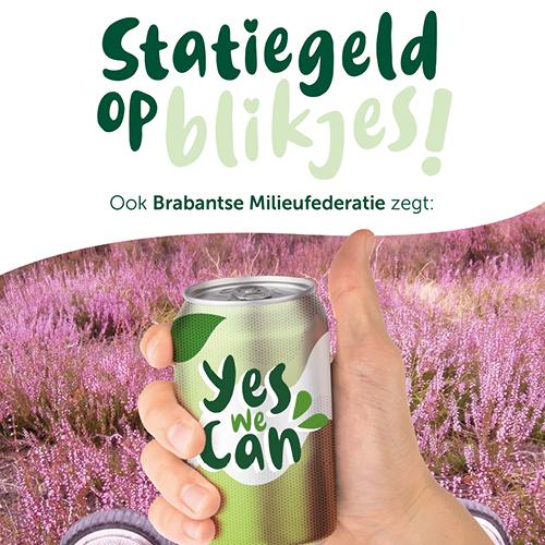 Yes We Can: vanaf 1 juli statiegeld op plastic flesjes