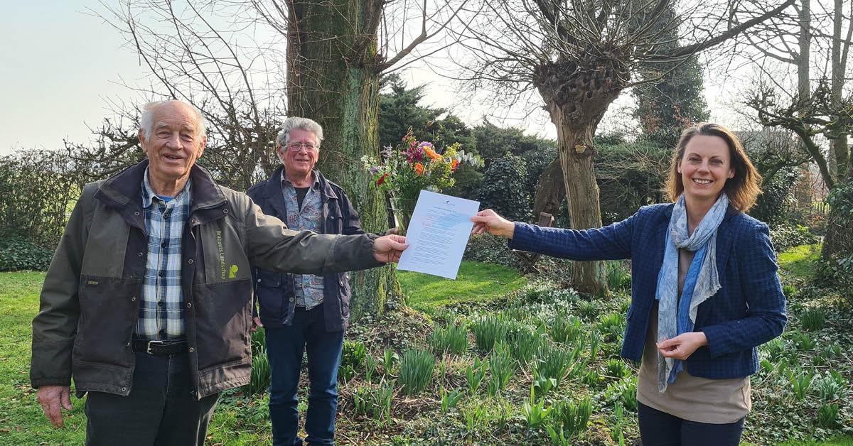 Johan Koekkoek uit Almkerk ontvangt Casimir Milieuprijs 2021