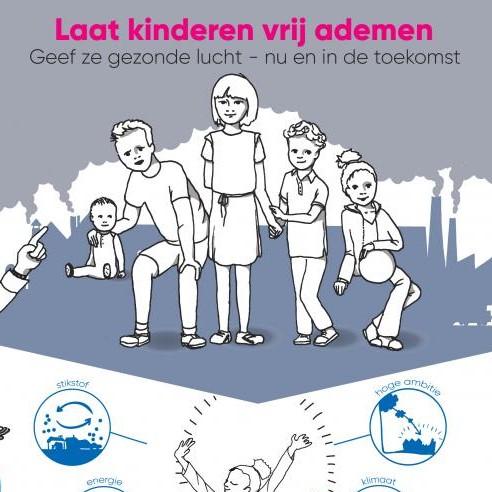 Tweede Kamer ontvangt manifest 'Geef kinderen gezonde lucht'