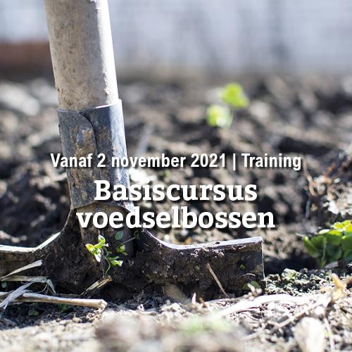 Vanaf 2 november | Basiscursus voedselbossen